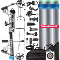 컴파운드보우 양궁 전문가 입문 장비 XGeek 활 키트