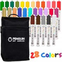 머그 나무 유리 페인팅 페인트마카 페인트마커 DIY 28 펜