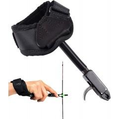컴파운드보우 양궁 손목 릴리스 릴리즈 EOUS 리거 출시 조정 가능한 스트랩
