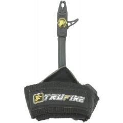 컴파운드보우 양궁 손목 릴리스 릴리즈 조절 가능한 블랙 스트랩