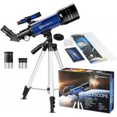 천체망원경 for Kids Beginners Adults 70mm Astronomy Refractor