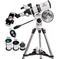 천체망원경 Gskyer for Adults 80mm AZ Space Astronomical Refractor for Kids