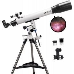 천체망원경 70mm Aperture and 700mm Focal Length Professional Astronomy Refractor for Kids and Beginners